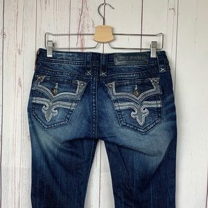Rock Revival Posey Bootcut Low Rise Jeans Size 29